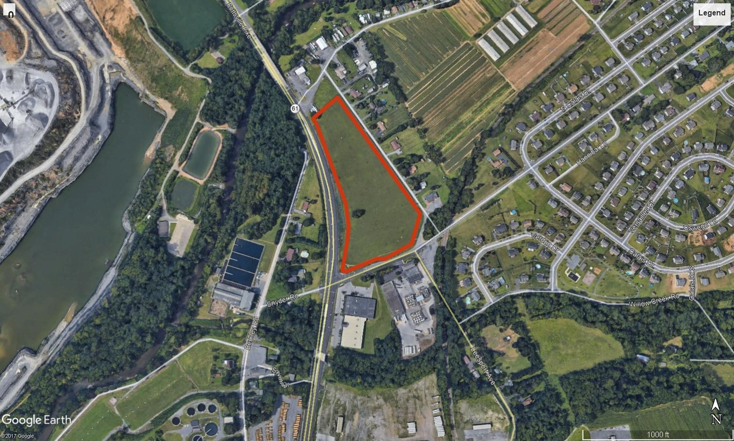 0 Snyder Road Ontelaunee Township PA is commercial land that is available for purchase. Contact Kent Wrobel, commercial realtor in Berks County, PA to learn more.