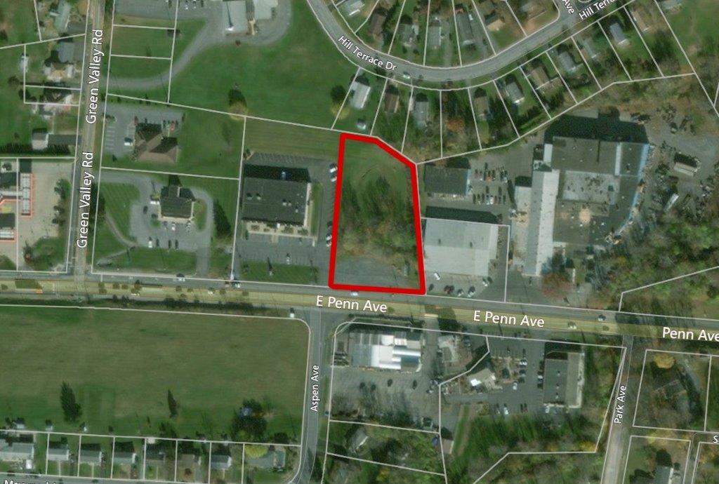 Located at 4631 Penn Avenue in Sinking Spring, PA this commercial land is available for purchase.